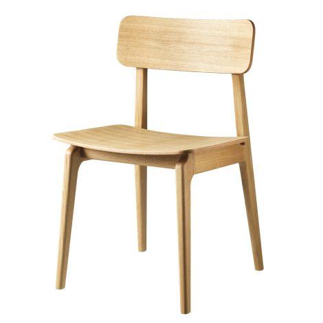 FDB Møbler J175 - Åstrup - Chair Stuhl Natur Eiche