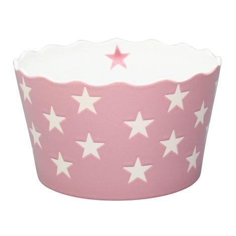 Krasilnikoff Schüssel Happy Stars Pink M