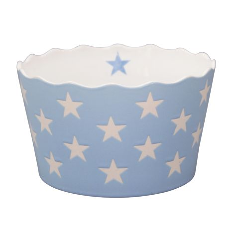 Krasilnikoff Schüssel Happy Stars Baby Blue M