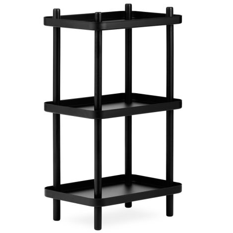 Normann Copenhagen Standregal Block Black/Black