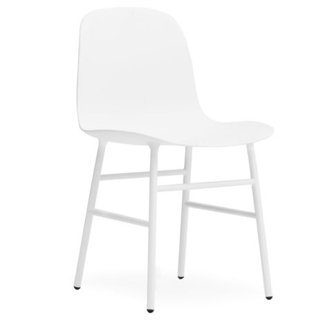 Normann Copenhagen Form Stuhl Steel/White