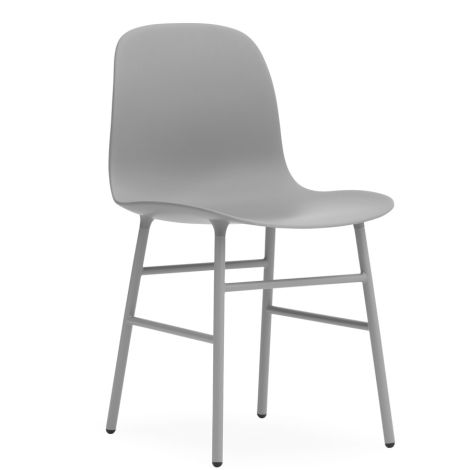 Normann Copenhagen Form Stuhl Steel/Grey