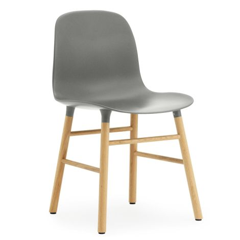 Normann Copenhagen Form Stuhl Oak/Grey