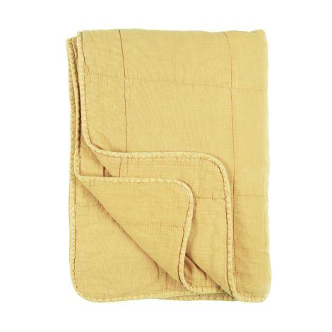 IB LAURSEN Tagesdecke Vintage Quilt Lemon Drop