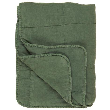 IB LAURSEN Tagesdecke Quilt Grün