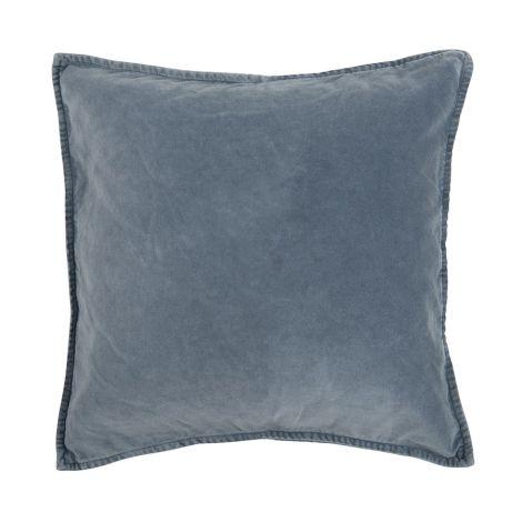 IB LAURSEN Kissenbezug Velour Colonial Blue 52 x 52