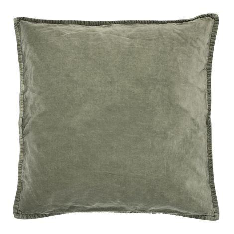 IB LAURSEN Kissenbezug Velour Olive 52x52