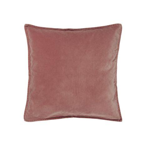 IB LAURSEN Kissenhülle Velour Faded Rose 52 x 52 cm