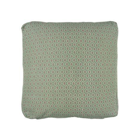 IB LAURSEN Sitzkissenbezug Staubgrün/Berry- und Naturmuster 45x45 cm