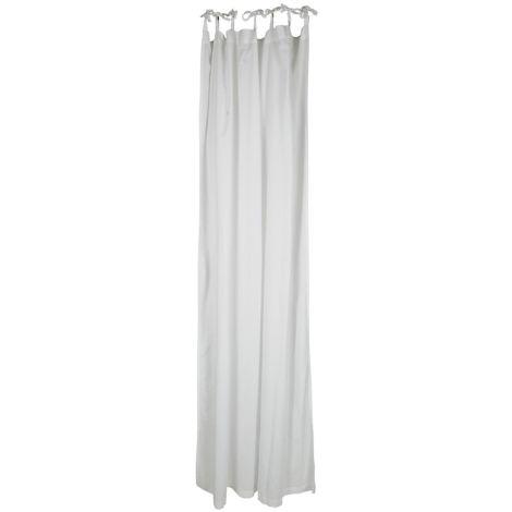 IB LAURSEN Vorhang mit 7 Bändern Weiss
