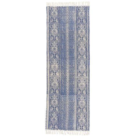 IB LAURSEN Teppichläufer mit blauem Muster •