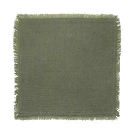 IB LAURSEN Stoffserviette doppelt gewebt Grün