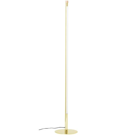 Bloomingville Stehlampe Straight Gold 124cm
