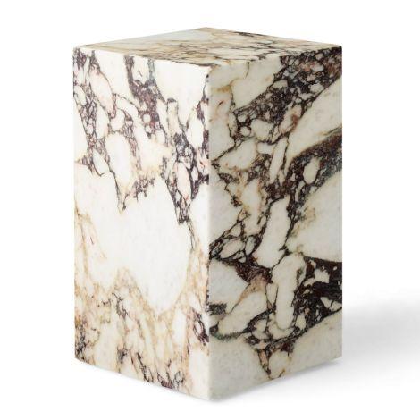 Menu Plinth Tisch Tall Rose Calacatta Viola Marble
