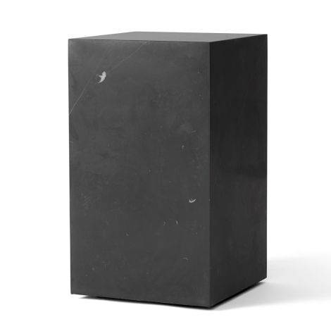 Menu Plinth Tisch Tall Black Marquina Marble