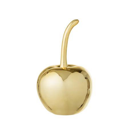 Bloomingville Große Deko-Kirsche Gold