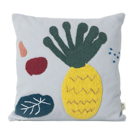 ferm LIVING Kissen Pineapple 40 x 40 cm •