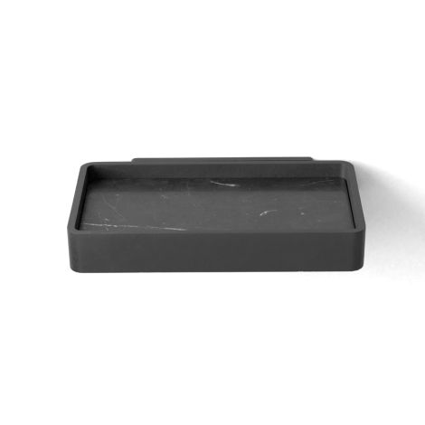 Menu Duschablage Black/Black Marble