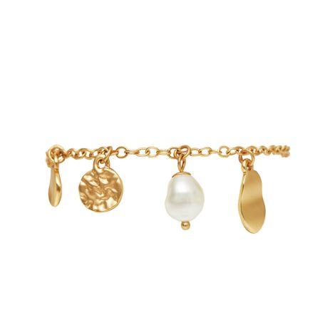 Dansk Smykkekunst Armband Audrey Dynamic Vergoldet