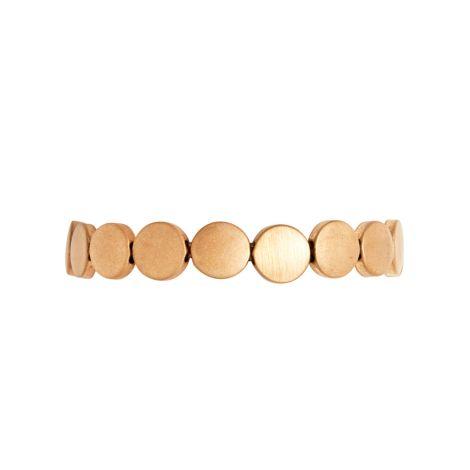 Dansk Smykkekunst Armband Vanity Small Dot Vergoldet •