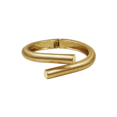 Dansk Smykkekunst Armband Tara Spinning Vergoldet •