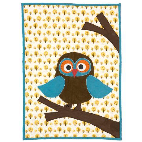 ferm LIVING Owl gequiltete Decke •