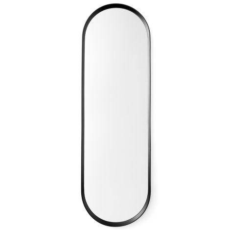 Menu Norm Wandspiegel Oval Black