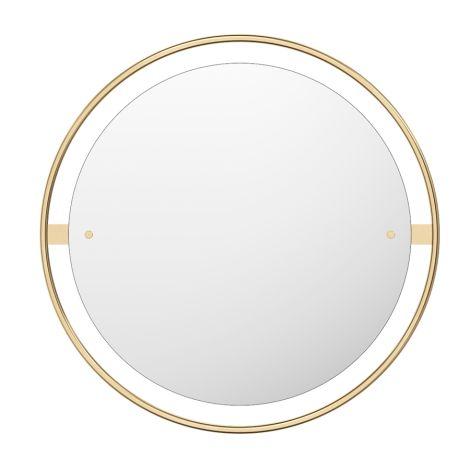 Menu Nimbus Spiegel Ø60 Polished Brass