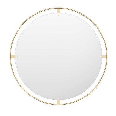 Menu Nimbus Spiegel Ø110 Polished Brass