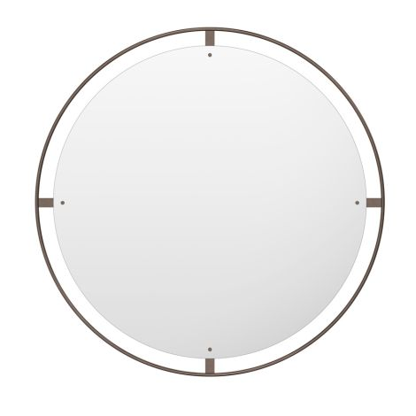 Menu Nimbus Spiegel Ø110 Bronzed Brass
