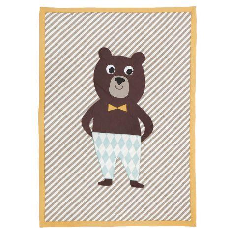 ferm LIVING Bear gequiltete Decke •