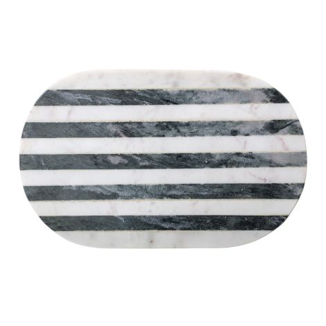 Bloomingville Schneidebrett Black Marmor