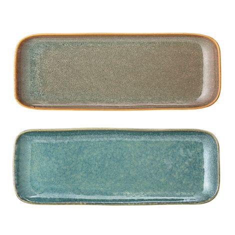 Bloomingville Teller Aime Multi-Color 25,5 cm 2er-Set