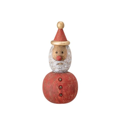 Bloomingville Figur Weihnachtsmann Traditional Red