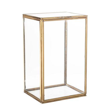 Bloomingville Aufbewahrungsdose Brass Glas