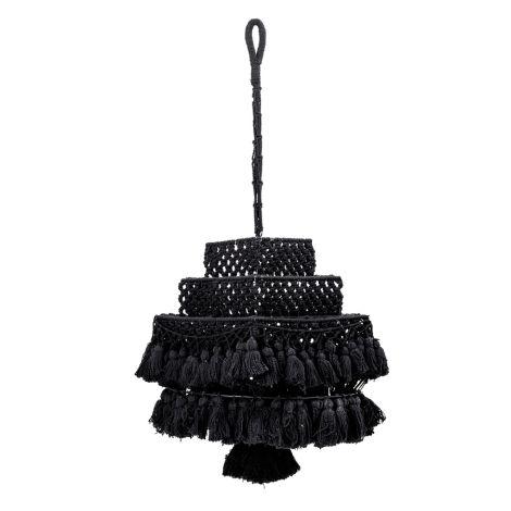 Bloomingville Baldachin Black Cotton
