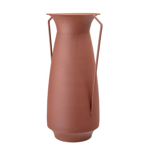 Bloomingville Vase Brown Metal 40 cm