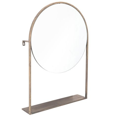 Bloomingville Spiegel Brass Metal