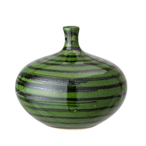 Bloomingville Vase Green 12,5 cm •