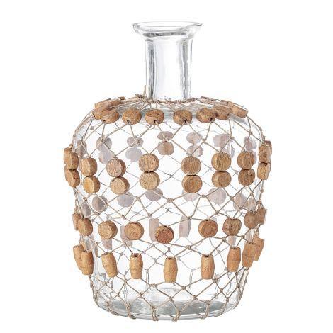 Bloomingville Vase Clear Glas 29,5 cm •