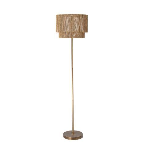 Bloomingville Stehlampe Brass Metal