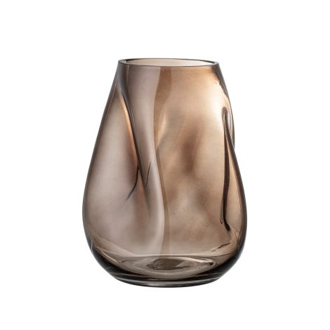 Bloomingville Vase Brown Glas 26 cm