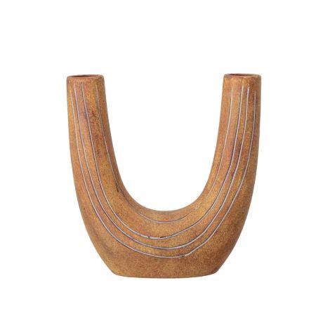 Bloomingville Vase Deco Brown Terracotta 26 cm