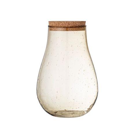 Bloomingville Vorratsglas Casie Brown 26 cm