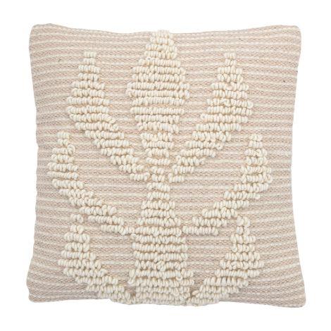 Bloomingville Kissen Nature Wool 40 x 40 cm