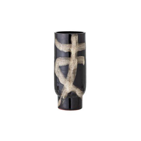 Bloomingville Vase Vefa Black Terracotta
