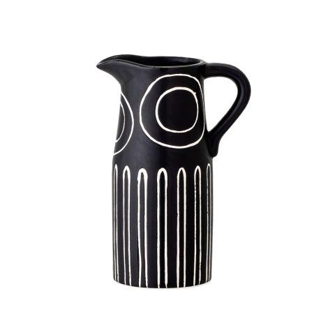 Bloomingville Vase Troy Black