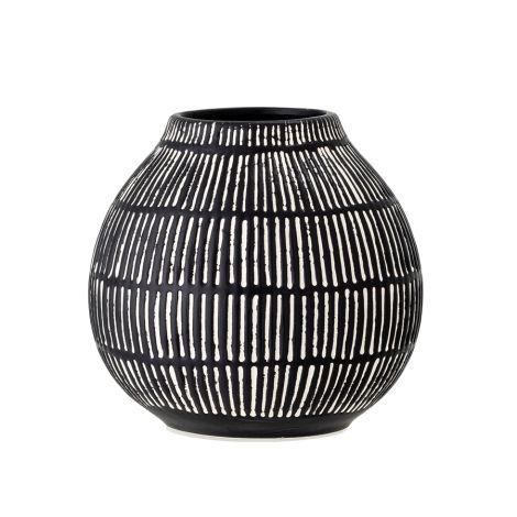 Bloomingville Vase Elveda Black