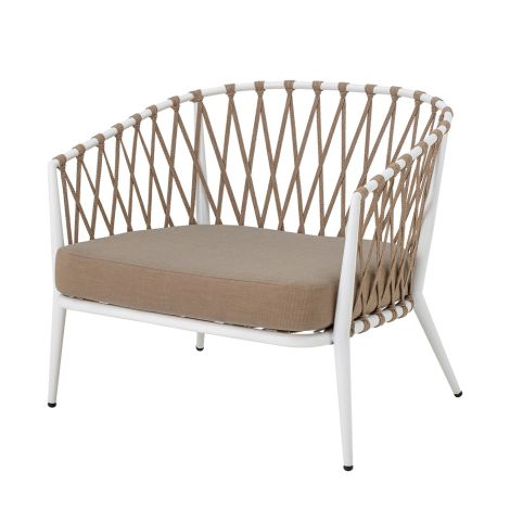 Bloomingville Stuhl Lounge Chair Cia White