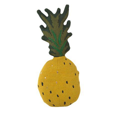 ferm LIVING Spiel-Kissen Fruiticana Pineapple